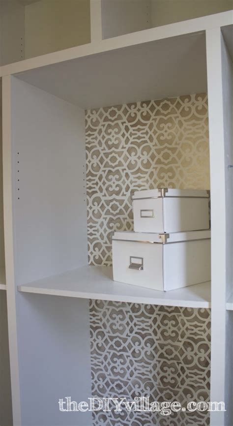 kitchen pantry update royal design studio stencil review