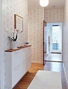Meuble Couloir étroit : 10 id es pour am nager un couloir troit blog deco clematcorner ~ Teatrodelosmanantiales.com Idées de Décoration