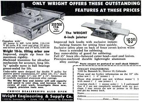 wright engineering supply  history