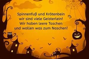Lustige Halloween Sprüche : halloween spruch spinnenfu und kr tenbein bilder ~ Frokenaadalensverden.com Haus und Dekorationen