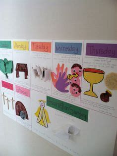 holy week craft ideas holy week crafts one for each day with bible verses 4685