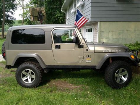 Sell Used 2005 Jeep Wrangler Unlimited Rubicon Sport