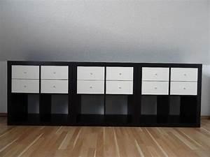 Regal Kallax Schwarz : kallax regal schwarzbraun breite 77 cm tiefe 39 cm ~ Michelbontemps.com Haus und Dekorationen