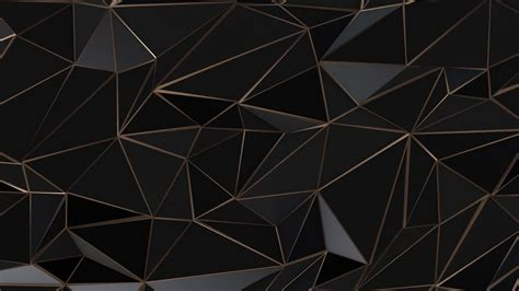 Abstract Black Triangle Background by Black Gold Background Png Menu Template Design