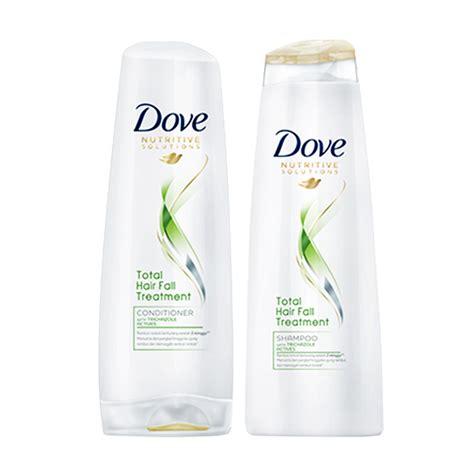 Harga Mandian Dove dove shoo total hair fall treatment 680ml daftar
