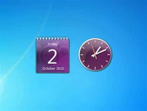 gadgets bureau windows 7 17 best images about gadgets set on clock