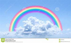 Clouds And Rainbow Royalty Free Stock Photography - Image ...