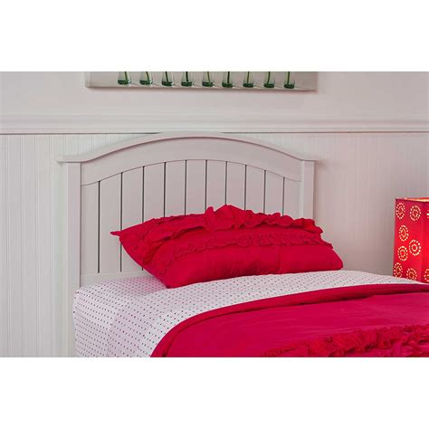 white wooden headboard finley wooden headboard panel with curved top rail