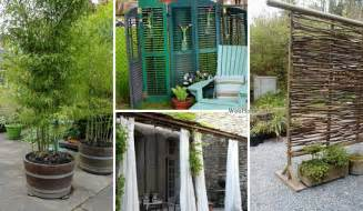 Low-Budget Patio and Yard Ideas for Privacy