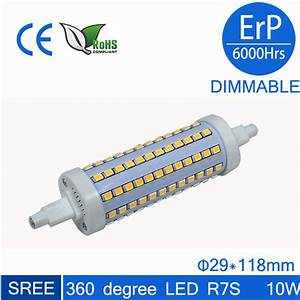 Ampoule Led R7s 50w : j118 ampoule led r7s 360degree dimmable 118mm 138mm rx7s ~ Edinachiropracticcenter.com Idées de Décoration