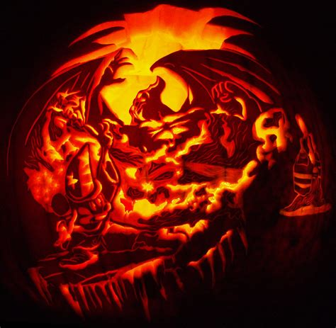awesome carved pumpkins designs the hodge podge gallery 10 2011