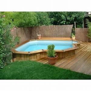 Petite Piscine Hors Sol Bois : mini piscine en bois bluewood ~ Premium-room.com Idées de Décoration