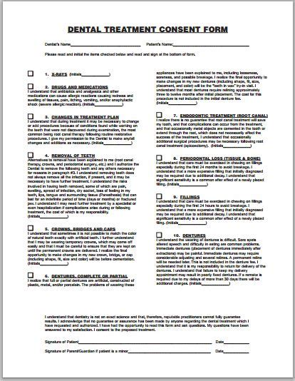 sle consent form printable forms letters sheets