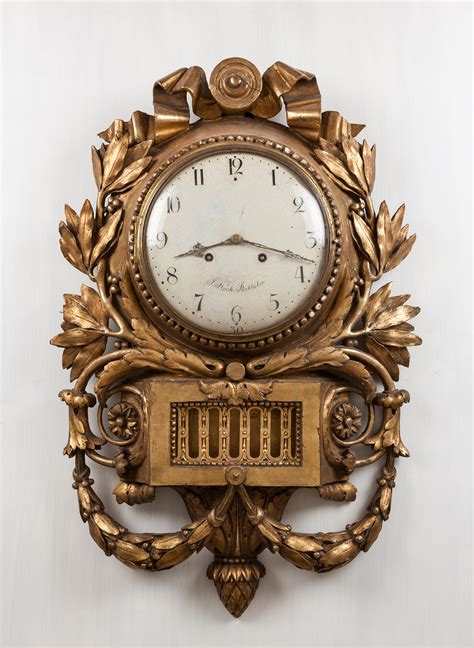 filependulum clock  jacob kock antique furniture