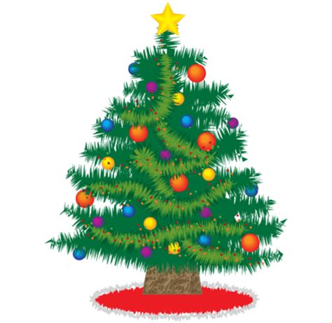 weihnachtsbaum mit geschenken clipart 25