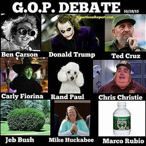 Funny Memes Skewering the 2016 GOP Candidates