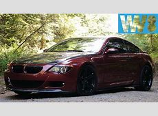 BMW E63 M6 V10 with CSL carbon and custom exhaust YouTube