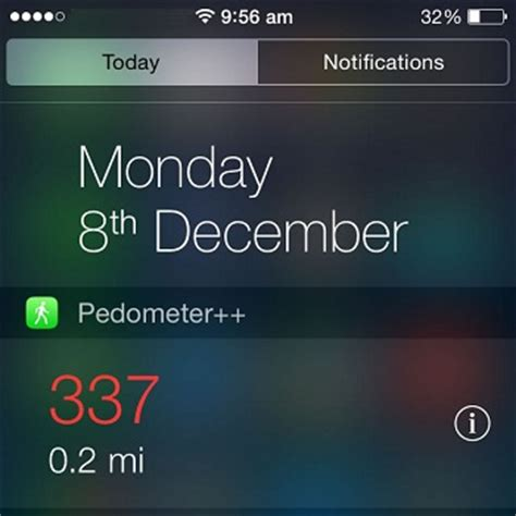 iphone step counter pedometer an iphone step counter with widget