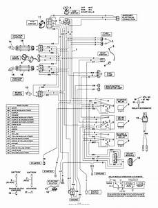 Bunton  Bobcat  Ryan 942230a  61 Side Discharge Parts Diagram For Kohler