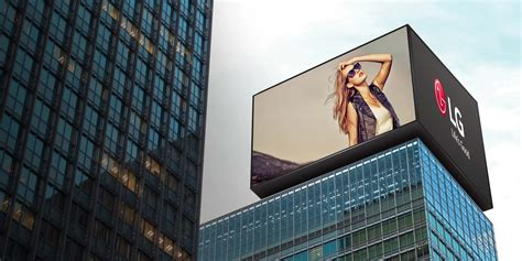outdoor led signage display lg uk business