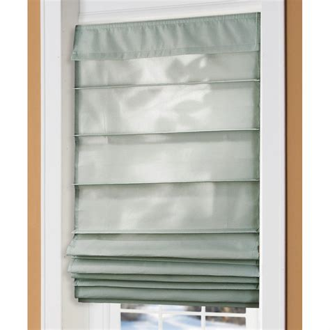 Easy Glide Insulated Roman Shades  217460, Curtains At