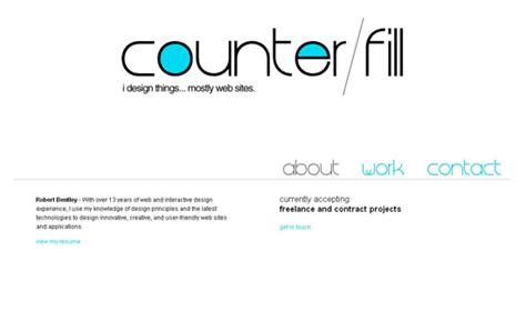 + Creative Examples Of Minimalist Web Design
