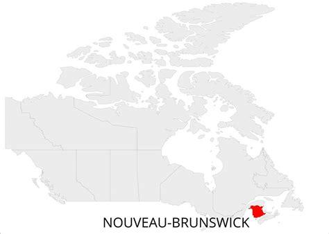 carte du nouveau brunswick