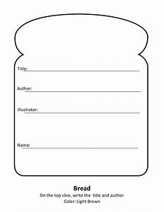 sandwich book report With sandwich template for writing
