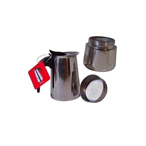 Cafetière Italienne Inox Cafeti 232 Re Italienne Inox 9 Tasses Induction