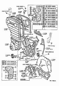 Toyota Celica Engine Timing Cover Gasket