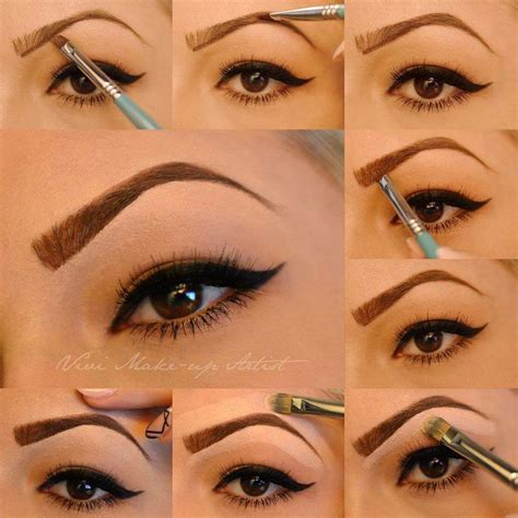 images  tattooed eyebrows  pinterest