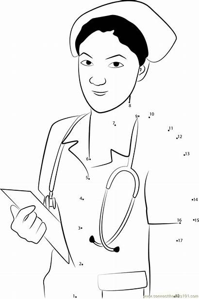 Nurse Dot Connect Stethoscope Notepad Dots Printable