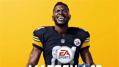 Antonio Brown is the 'Madden 19' cover athlete