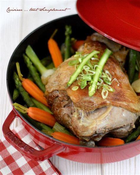 cuisiner gigot d agneau 17 meilleures images à propos de recettes en cocottes des