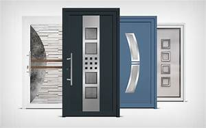 Mohn fermetures portes entree alu for Porte d entrée pvc en utilisant fenetre alu standard