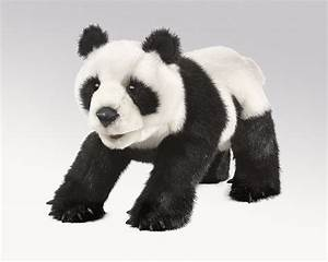 Small, Panda, Hand, Puppets, By, Folkmanis, Puppets