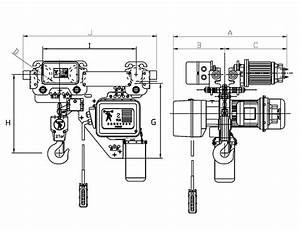 5 Ton Chain Fall Hoist  Diagrams  Wiring Diagram Images