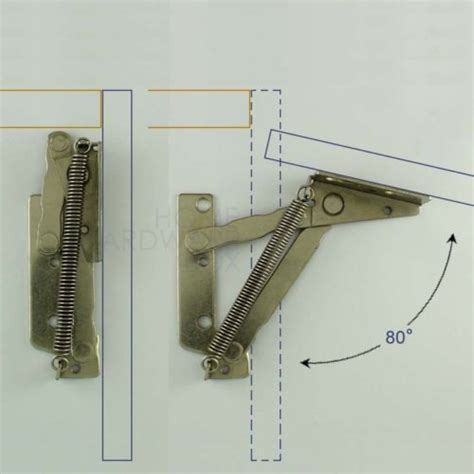 top hung kitchen cabinet hinges details about cabinet swing up door lift up flap top 8550