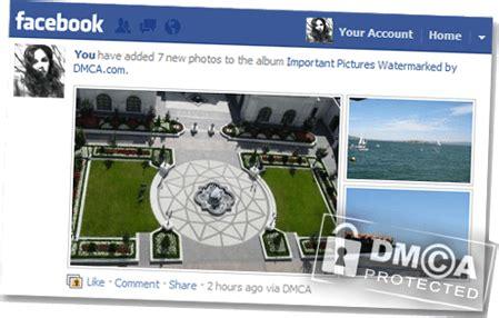 dmcacom facebook watermarker protect  facebook images