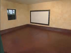 How To Paint Wood Floors Diy Network by Concrete Floor Paint