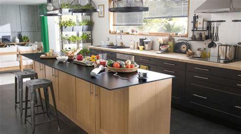 cuisine ilot centrale design ilot central cuisine ouverte cuisine en image