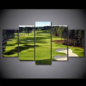 Golf course canvas wall art anjuna lane for Golf wall art
