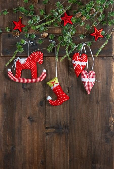 easy christmas decoration sewing projects thriftyfun