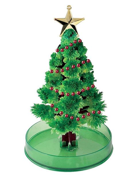 grow a magic crystal christmas tree