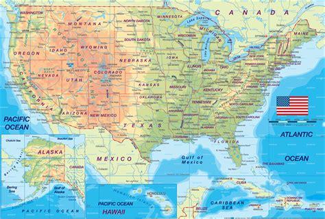 usa political map  political map america political map