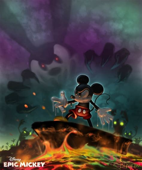 Epic Mickey And Evil Oswald Vintage Mickey Pinterest