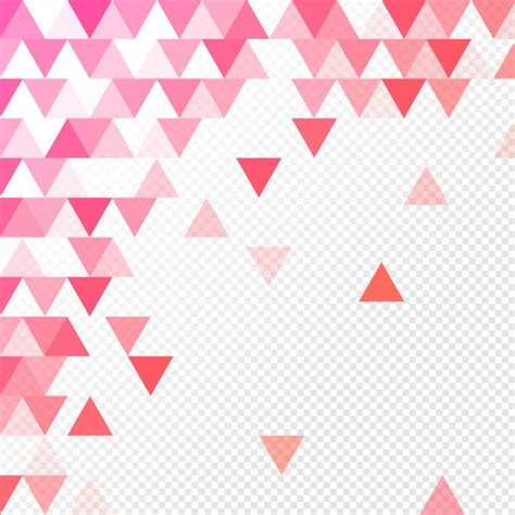 Abstract Geometric Shapes Transparent Background by Abstract Geometric Background With Triangles On