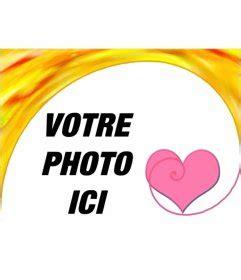 cadre photo avec un coeur f 233 licite la valentin avec un montage photoeffets