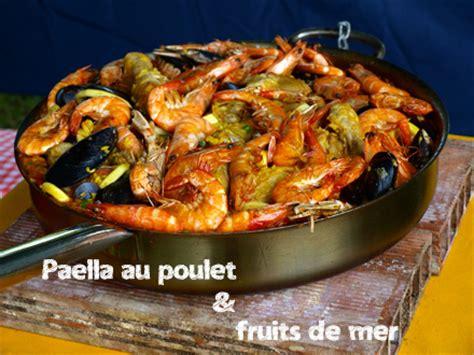 paella au poulet et aux fruits de mer cookismo