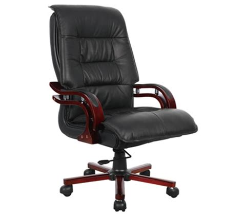 professional high back executive genuine leather office